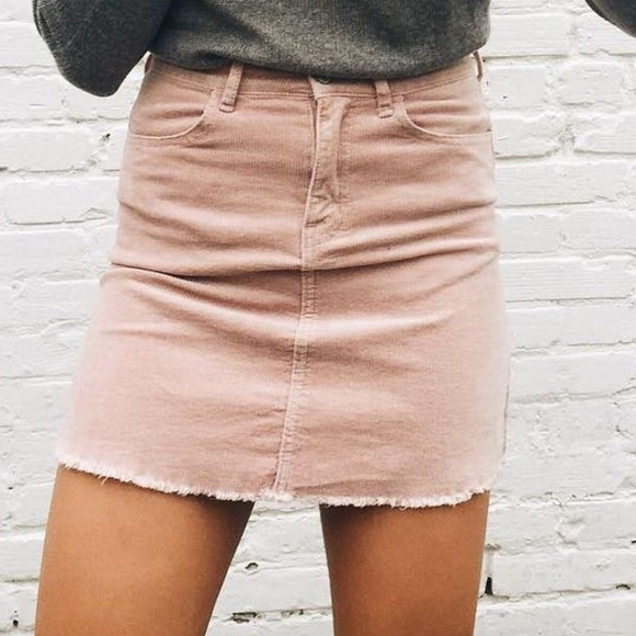 1e4da11f32ba Skirts | Blush Pink Jean Skirt | Poshmark